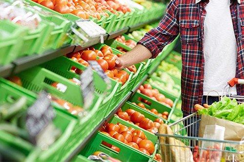 Alimentos orgânicos e alimentos convencionais
